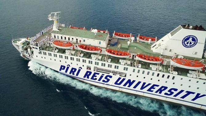 T/S Piri Reis Üniversitesi Kos Adası'na gitti