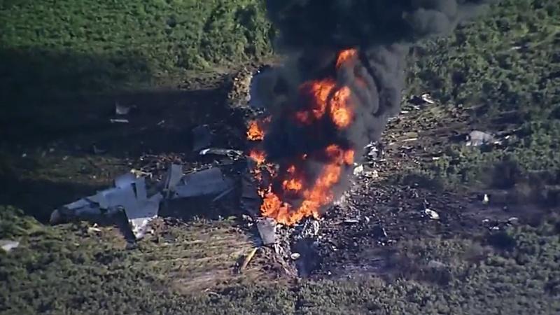ABD'ye ait askeri uçak düştü: 16 ölü