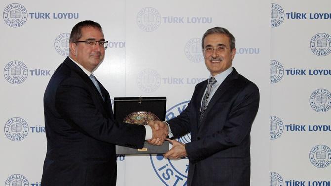 SSM Prof. Dr. İsmail Demir Türk Loydu'nu ziyaret etti