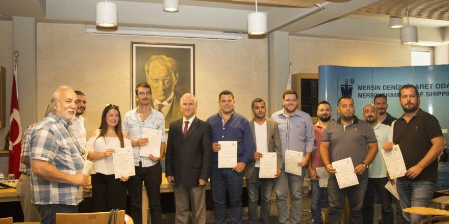 MDTO'da Eğitim Alan Kursiyerlere Katılım Belgeleri Verildi