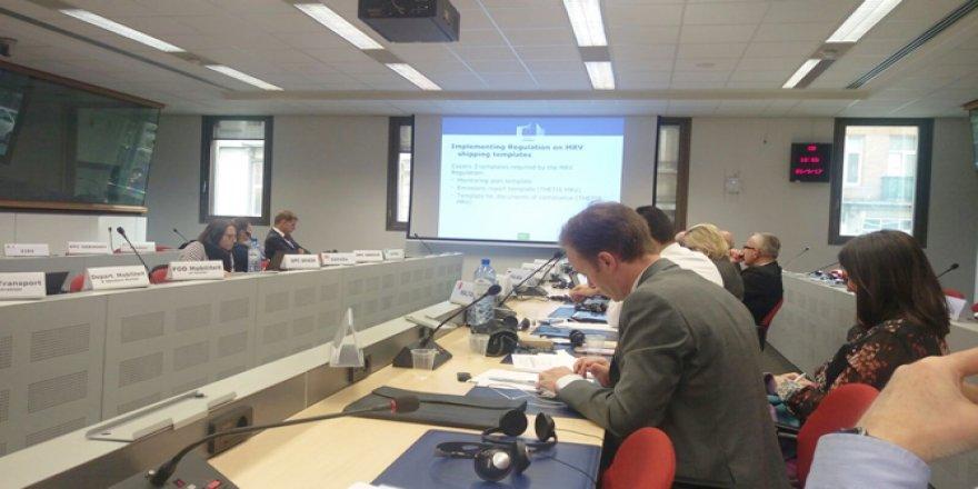 Brüksel'de Denizyolu Politikaları Ele Alındı