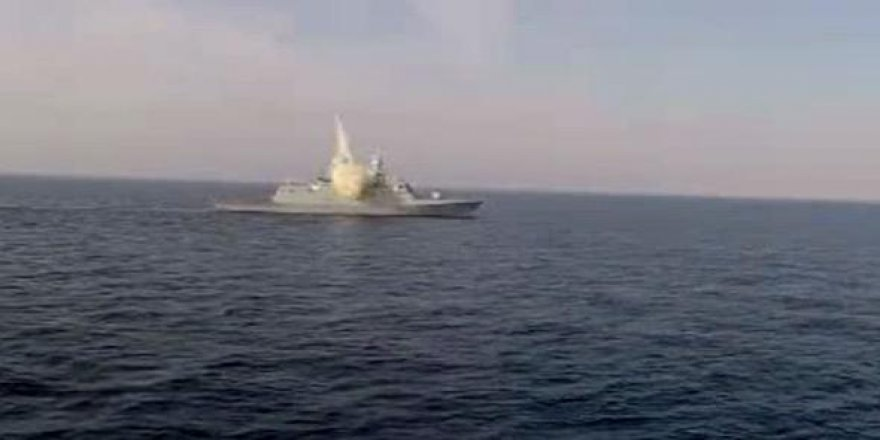 K. Kore'den gelen esrarengiz gemi imha edildi!