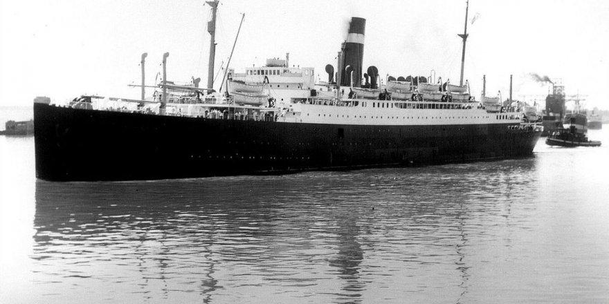 Athenia gemisinin batığı bulundu