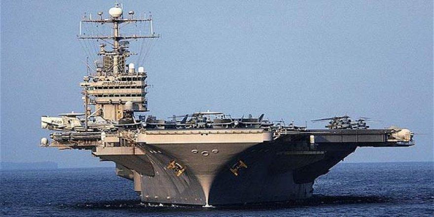 ABD'nin en güçlü uçak gemisi yola çıktı