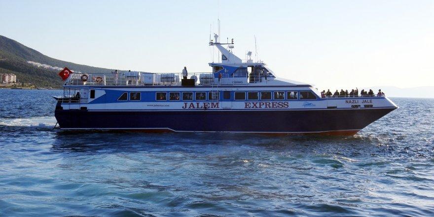 Midilli-Ayvalık feribot seferleri yeniden başladı