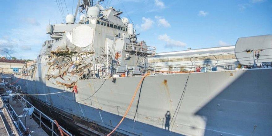 USS Fitzgerald tamir için ABD yolcusu