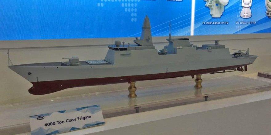 Pakistan donanma gemilerini Çin'den alacak
