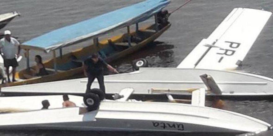 Greenpeace uçağı düştü: 1 ölü 4 yaralı