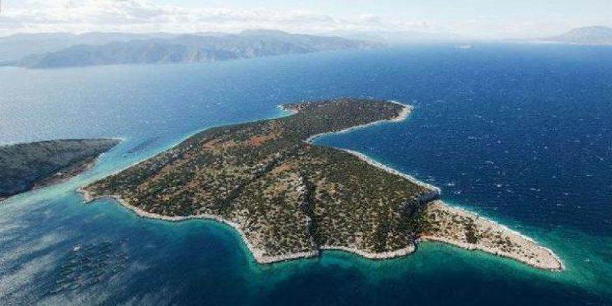 15 milyon dolara satılık ada
