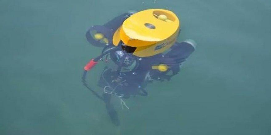 Yerli insansız su altı gözlem aracı SAGA