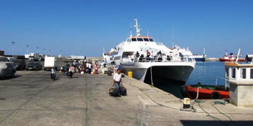Gemikonağı Mersin arasında hızlı feribot seferleri