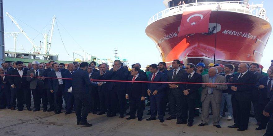 Margo Hüseyin Trabzon'da denize indirildi