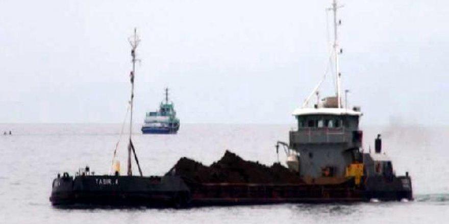 'Taşır-4' isimli hafriyat gemisi devreye sokuldu