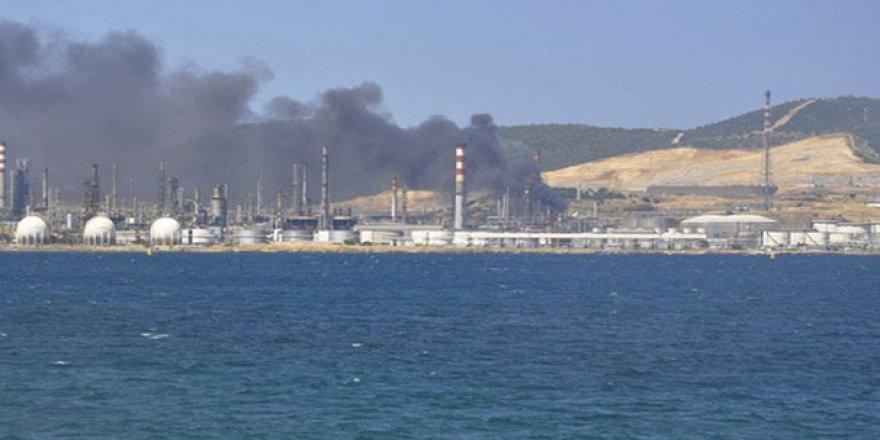 Tüpraş'taki patlamanın nedeni ''tel uçlu spiral''