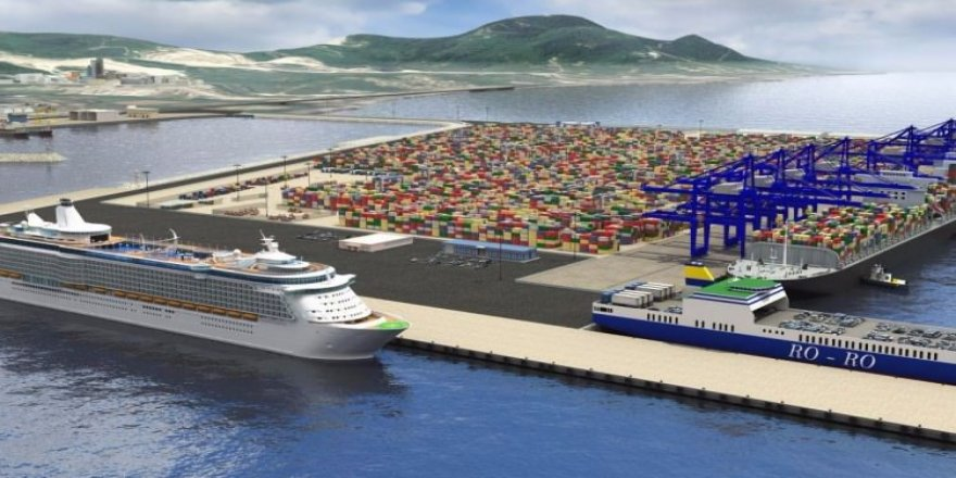 Ünye Limanı 2.2 milyon TEU kapasiteye çıkacak