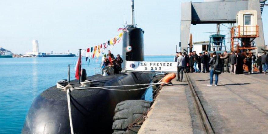Ay ve Preveze denizaltılarına TÜBİTAK mühürü