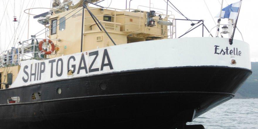 El konulan gemi için ödenen tazminat Gazze'ye kullanılacak