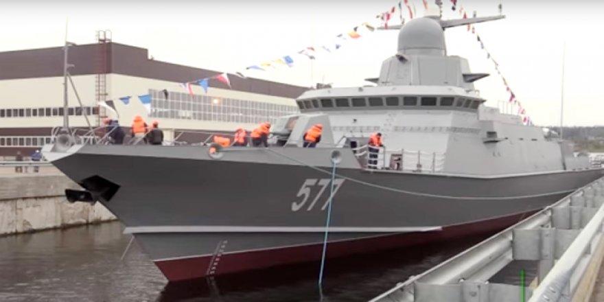 Karakurt'un 2. gemisi Tayfun denize indirildi