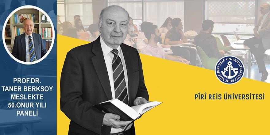 PRU'da Prof.Dr. Taner Berksoy'a büyük onur