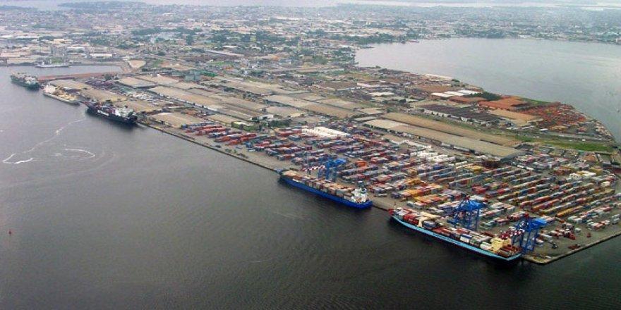 Abidjan Limanı'nda derinleştirme çalışması