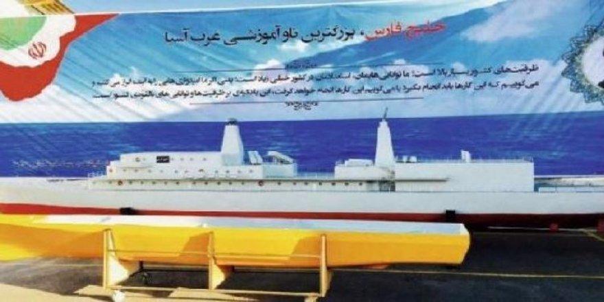 İran bölgenin en büyük savaş gemisini inşa ediyor