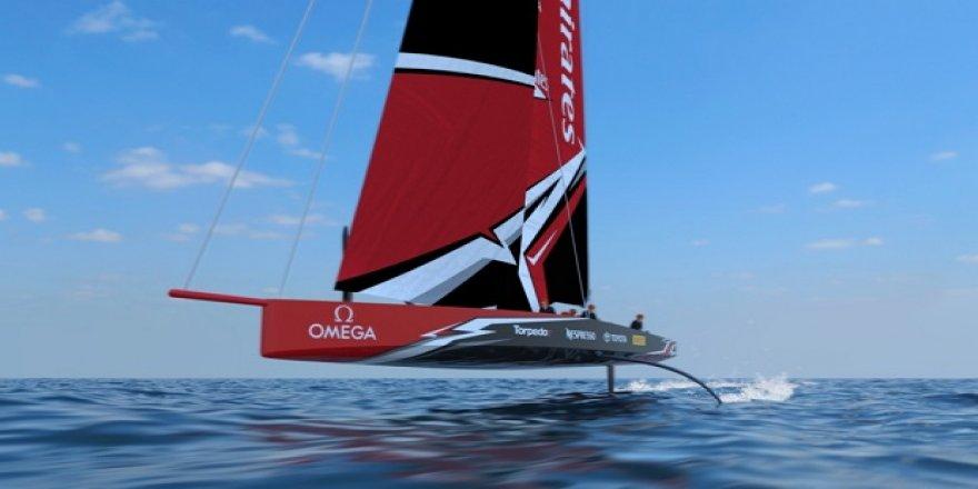 America's Cup yeni konsept teknesi : AC75