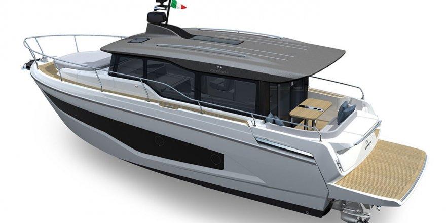 Yeni Cranchi XT 36 ilk kez CNR Avrasya Boat Show'da