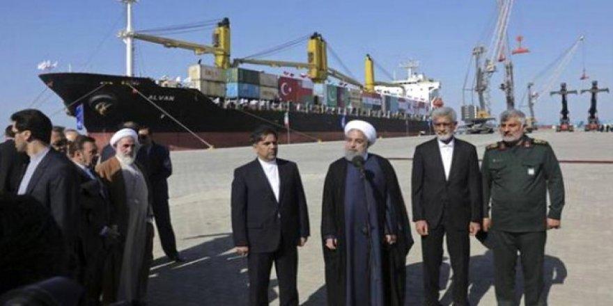 İran'ın, okyanusa açılan tek limanı Çabahar açıldı