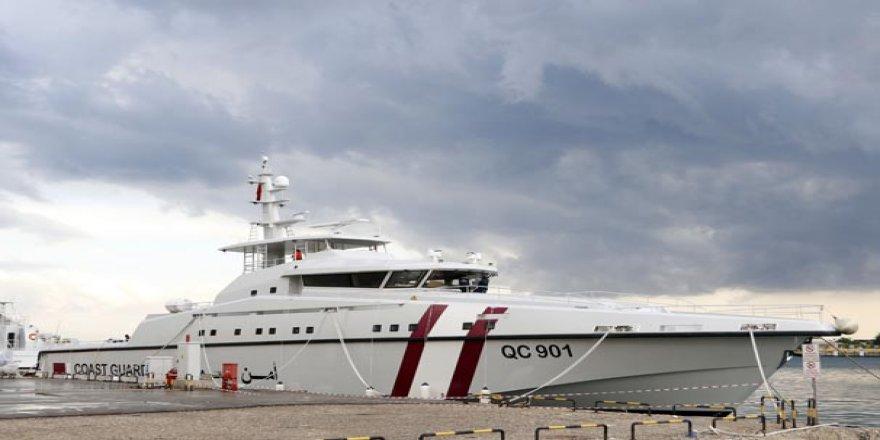 Dünyanın en hızlı karakol gemisini Ares Katar için yaptı