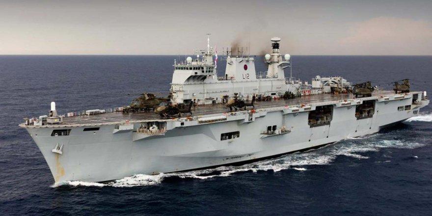 İngiltere HMS Ocean Helikopter Gemisi'ni Brezilya'ya sattı