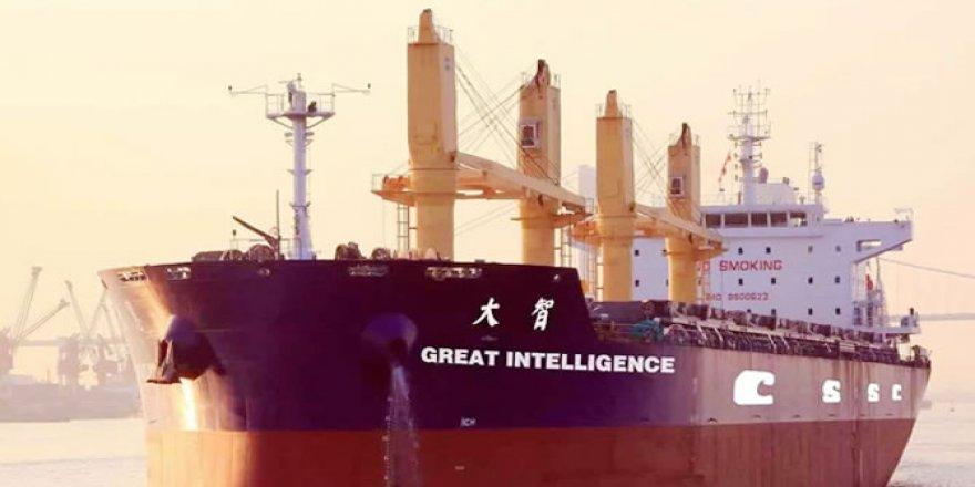 """Dünyanın ilk akıllı gemisi """"Dazhi"""" sahibine teslim edildi"""