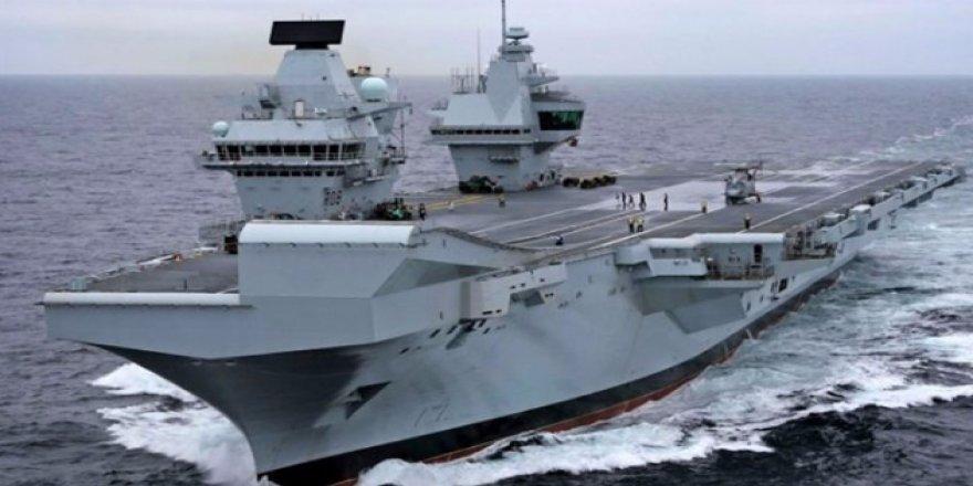 """HMS Queen Elizabeth"" hizmete girdi"