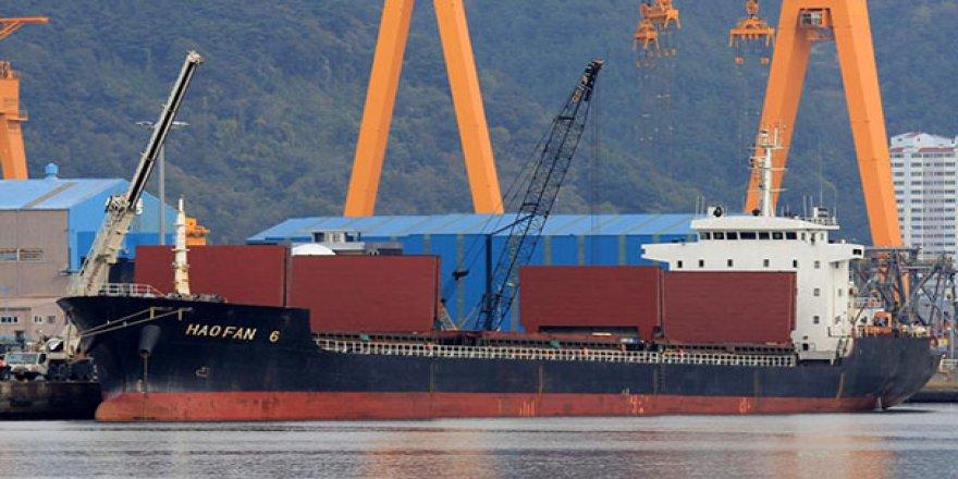 Kuzey Kore'nin gizemli gemisinin izi bulundu