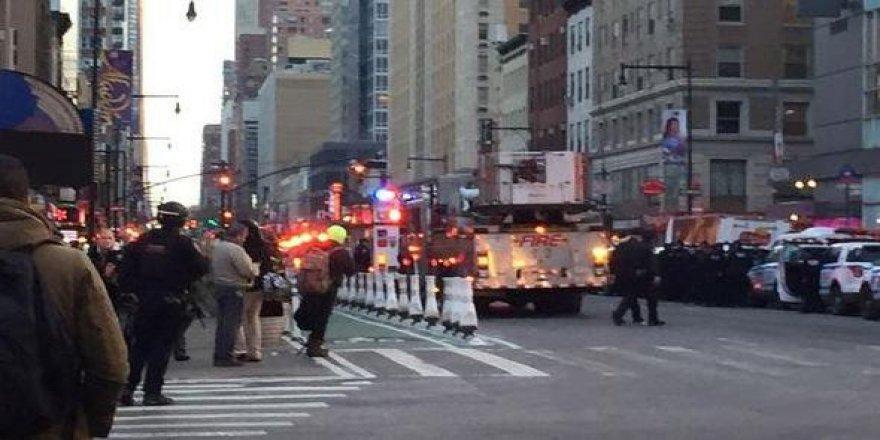 New York'ta patlama! Yaralılar var...