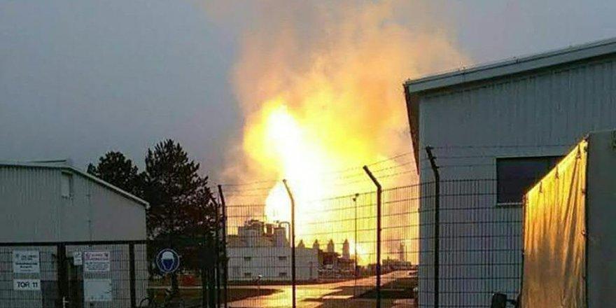 Avusturya'da doğalgaz boru hattında patlama