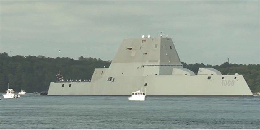 ABD'nin yeni savaş gemisi testleri geçemedi