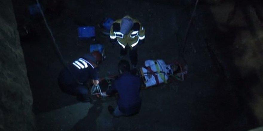 Gemide ambara düşen denizci yaralandı