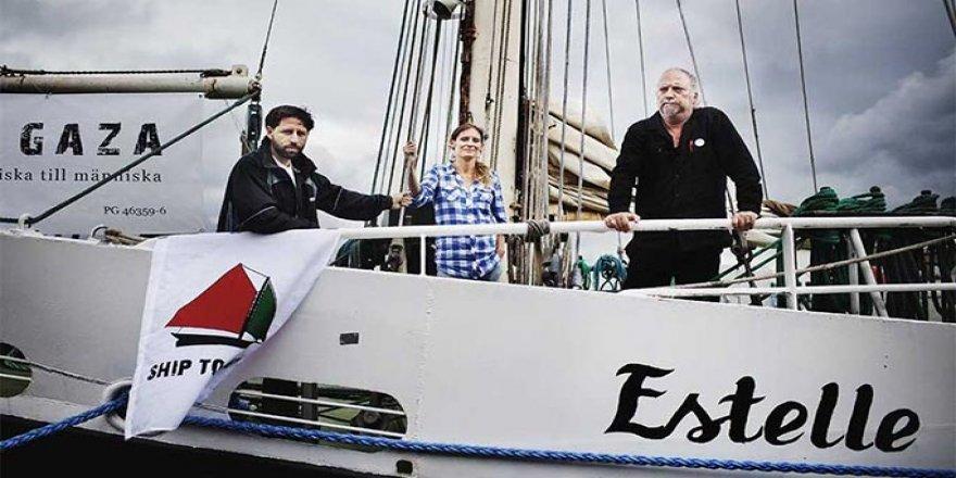 Gazze'ye yardım için 2. gemiyi de aldılar