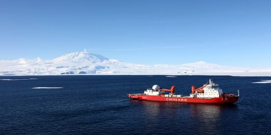 'Kar Ejderi' Antarktika'da araştırmalara başladı