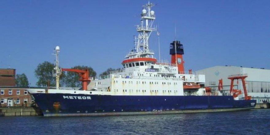 Alman gemisinin araştırma iznine iptal
