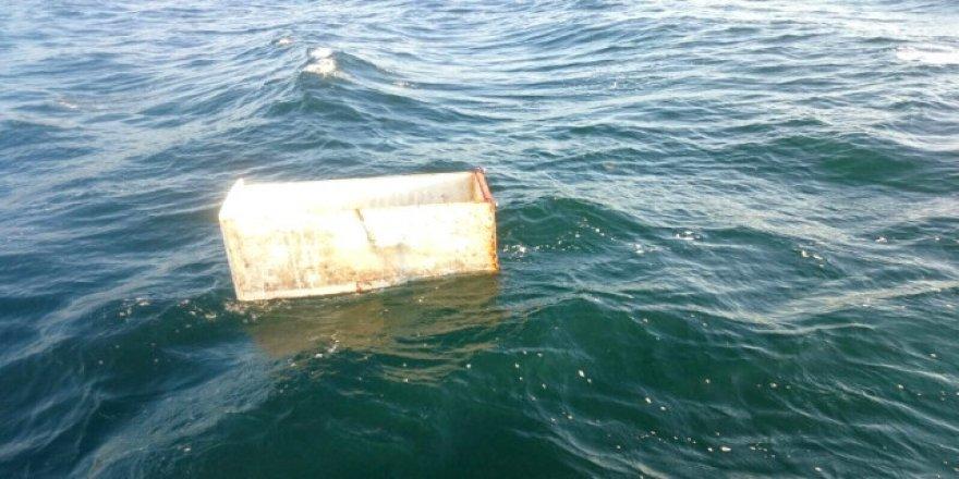 Yuh artık! Denizden buzdolabı bile çıktı