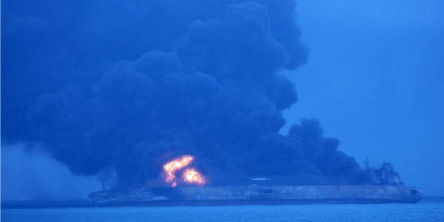 Çin'de 'Ya tanker patlarsa' korkusu!