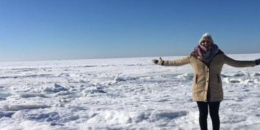 ABD'de buzul çağı! Okyanus bile dondu