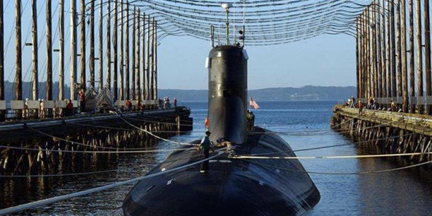 Nükleer denizaltıyı su bastı