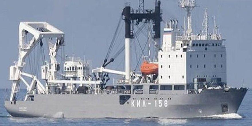 Rus Deniz Kuvvetleri gemisi TSK'dan yardım istedi