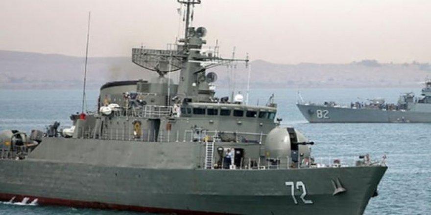 İran savaş gemisi dalgakırana çarptı: 2 kişi kayıp