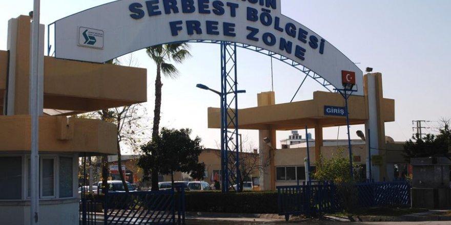 Mersin Serbest Bölge'de 9 bin kişi istihdam ediliyor
