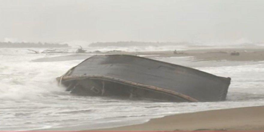 Kıyıya vuran tekneden 7 ceset çıktı