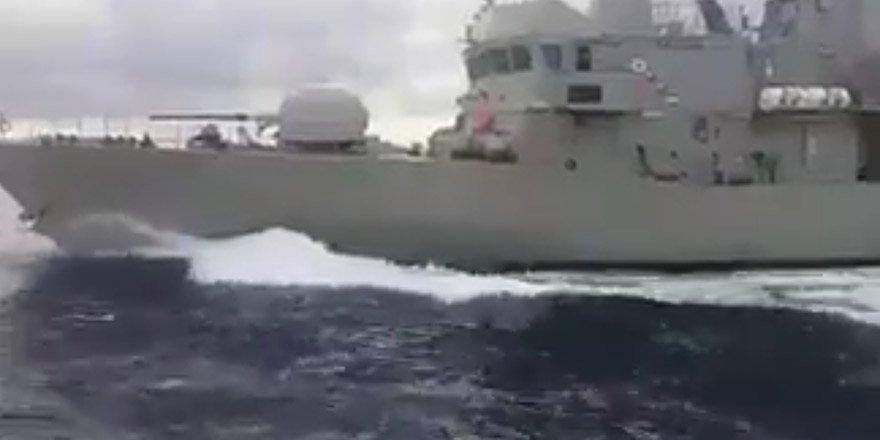 Kardak açıklarında Türk ve Yunan botları çarpıştı