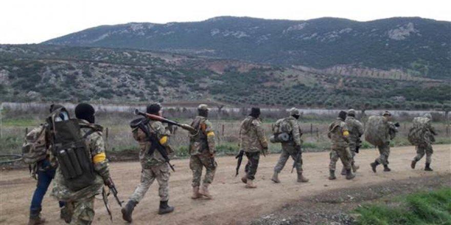Sıcak çatışma başladı! Tanklar Afrin'e ilerliyor
